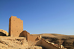 The Northern Tower at the Greek Orthodox Mar Saba monastery in the Judean Desert
