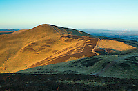 Allermuir Hill from Caerketton, The Pentland Hills, The Pentland Hills Regional Park, Lothian