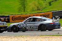 #44 Magnus Racing Porsche GT3 of Andy Lally & John Potter class: Grand Touring (GT)