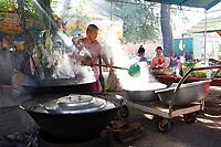 Pchum Ben celebrations  in <br /> Siem Ream, Cambodia,<br /> Seotember 2020.