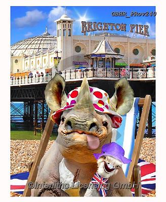 Howard, REALISTIC ANIMALS, REALISTISCHE TIERE, ANIMALES REALISTICOS, selfies,rhino,brighton pier, paintings+++++,GBHRPROV240,#a#, EVERYDAY