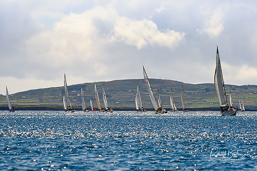 Sailing at Calves Week in West Cork