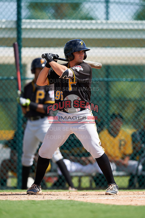 Pittsburgh Pirates Christian Kelley (96) during an Instructional League Intrasquad Black & Gold game on September 28, 2016 at Pirate City in Bradenton, Florida.  (Mike Janes/Four Seam Images)