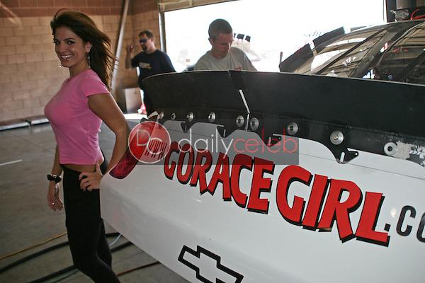 Bridgetta Tomarchio Named the The Race Girl<br />at the NASCAR Busch Series Ameriquest 300. California Speedway, Fontana, CA. 09-02-06<br />Jason Kirk/DailyCeleb.com 818-249-4998