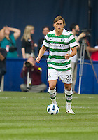 July 16, 2010 Thomas Rogne No. 25 of Celtic FC  during an international friendly between Manchester United and Celtic FC at the Rogers Centre in Toronto.