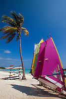Dominikanische Republik, Surfboards im Punta Cana Beach Resort und Club