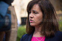 Caroline Flint (British Labour Party politician who has been the Member of Parliament for Don Valley since 1997; she served in the Government as the Minister for Public Health from 2005 to 2007, the Minister for Employment from 2007 to 2008, the Minister for Housing and Planning in 2008, and finally as the Minister for Europe from 2008 to 2009, when she resigned citing disagreement with the leadership style of Gordon Brown).<br /> <br /> In October 2010, she was elected to the Shadow Cabinet, and Ed Miliband appointed her Shadow Secretary of State for Communities and Local Government. In 2011, she was moved to become Shadow Secretary of State for Energy and Climate Change.<br /> <br /> London, 24/06/2016. The United Kingdom decided to leave the European Union. The British people voted (Turnout 72.2%): 51,9% to leave the EU (17,410,742 Votes) versus 48,1% to remain in the EU (16,141,241 Votes).<br /> <br /> For the full caption please find the 2-page PDF attached at the beginning of this story.<br /> <br /> For more information abou the result please clich here: http://www.bbc.co.uk/news/politics/eu_referendum/results