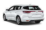 Car pictures of rear three quarter view of 2020 Renault Megane Intens 5 Door Wagon Angular Rear