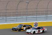 #20: Harrison Burton, Joe Gibbs Racing, Toyota Supra DEX Imaging #8: Daniel Hemric, JR Motorsports, Chevrolet Camaro South Point Hotel & Casino