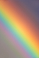 Close up of rainbow
