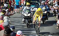 Chris Froome (GBR/SKY)<br /> <br /> Stage 18 (ITT) - Sallanches › Megève (17km)<br /> 103rd Tour de France 2016
