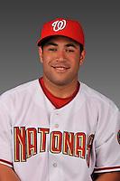 14 March 2008: ..Portrait of Sandy Leon, Washington Nationals Minor League player at Spring Training Camp 2008..Mandatory Photo Credit: Ed Wolfstein Photo