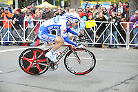 The 2009 Tour of California began with a time trial through the streets of downtown Sacramento, California, Saturday, February 14, 2009. (photo by Pico van Houtryve) The 2009 Tour of California began with a time trial through the streets of downtown Sacramento, California, Saturday, February 14, 2009. (photo by Pico van Houtryve)