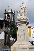 Rathausplatz in Praia da Vitoria auf der Insel Terceira, Azoren, Portugal
