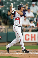Bogusevic, Brian 0171.jpg. Memphis Redbirds at Round Rock Express in Pacific Coast League Baseball. Dell Diamond on April 26th 2009 in Round Rock, Texas. Photo by Andrew Woolley.