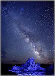 Milky Way & Mono Lake<br /> Tufa Spires