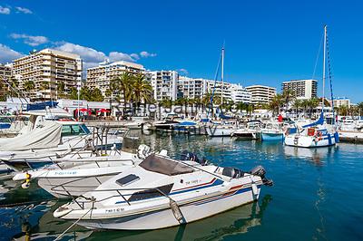 Spanien, Andalusien, Provinz Málaga, Costa del Sol, Marbella: Yachthafen | Spain, Andalusia, Costa del Sol, Marbella: yacht harbour