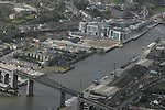 Aerial view of Drogheda showing the Viaduct looking South West across the Boyne.  Scotch Hall, Mary Street and the Dublin Road are in view. 12/04/05..Photo NEWSFILE/Fran Caffrey.(Photo credit should read Fran Caffrey/NEWSFILE)....This Picture has been sent you under the condtions enclosed by:.Newsfile Ltd..The Studio,.Millmount Abbey,.Drogheda,.Co Meath..Ireland..Tel: +353(0)41-9871240.Fax: +353(0)41-9871260.GSM: +353(0)86-2500958.email: pictures@newsfile.ie.www.newsfile.ie.FTP: 193.120.102.198...This picture is from Fran Caffrey@newsfile.ie