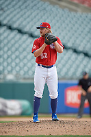Buffalo Bisons pitcher Kirby Snead (52) during an International League game against the Indianapolis Indians on June 20, 2019 at Sahlen Field in Buffalo, New York.  Buffalo defeated Indianapolis 11-8  (Mike Janes/Four Seam Images)