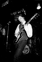 July 24, 1987 File Photo - Montreal, Quebec CANADA - Montreal garage band THE GRUESOMES in concert at The Rising Sun