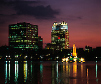 Lake Eola, Orlando, Florida.