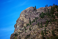 Summerland, South Okanagan Valley, BC, British Columbia, Canada - the Giant's Head in Giant's Head Mountain Park