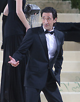 September 13, 2021.Adrien Brody attend The 2021 Met Gala Celebrating In America: A Lexicon Of Fashion at<br /> Metropolitan Museum of Art  in New York September 13, 2021 Credit:RW/MediaPunch