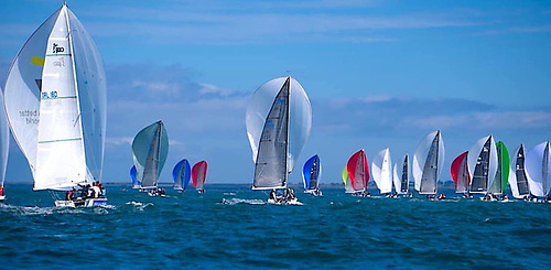 A 27-boat 1720 fleet,one of the biggest in recent years, had gathered at Dunmore East for the three day Euros event