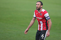 Rory McArdle of Exeter City during Gillingham vs Exeter City, Emirates FA Cup Football at the MEMS Priestfield Stadium on 28th November 2020