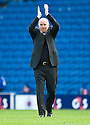 DUNDEE UTD MANAGER PETER HOUSTON AT THE END OF THE GAME