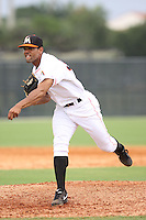 GCL Marlins Nestor Bautista (39) throws a pitch during a game against the GCL Cardinals on June 30th, 2014 at the Roger Dean Complex in Jupiter, Florida. GCL Cardinals defeated GCL Marlins 13-1. (Stacy Jo Grant/Four Seam Images)