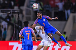 Subhasish Bose of India (L) in action during the AFC Asian Cup UAE 2019 Group A match between India (IND) and Bahrain (BHR) at Sharjah Stadium on 14 January 2019 in Sharjah, United Arab Emirates. Photo by Marcio Rodrigo Machado / Power Sport Images