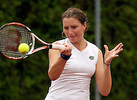 12-8-09, Den Bosch,Nationale Tennis Kampioenschappen, 1e ronde,  Marrit Boonstra
