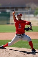 Jeremy Hill - Los Angeles Angels - 2009 spring training.Photo by:  Bill Mitchell/Four Seam Images