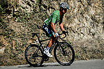 Peter Sagan (SVK) Bora-Hansgrohe slips back on Col de Turini during Stage 2 of Tour de France 2020, running 186km from Nice Haut Pays to Nice, France. 30th August 2020.<br /> Picture: ASO/Alex Broadway | Cyclefile<br /> All photos usage must carry mandatory copyright credit (© Cyclefile | ASO/Alex Broadway)