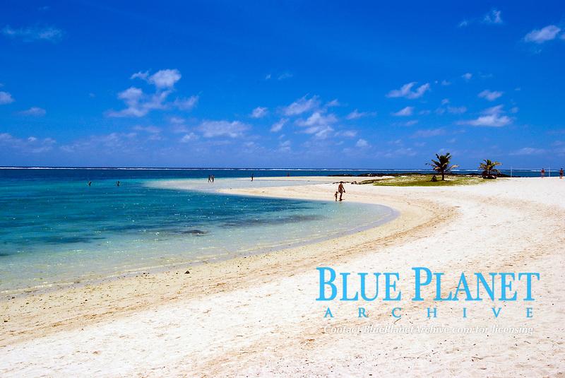 Belle Mare Plage sandbank, Mauritius