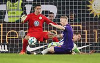 goalkeeper Koen Casteels, Paul Verhaegh, Florian Kainz /   / general viel, Spielszene  /   / Sport / Football Football / DFL erste 1.Bundesliga  /  2017/2018 / 19.09.2017 / VfL Wolfsburg vs. SV Werder Bremen 170919014 /  *** Local Caption *** © pixathlon<br /> Contact: +49-40-22 63 02 60 , info@pixathlon.de