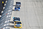 NASCAR Camping World Truck Series<br /> Bar Harbor 200<br /> Dover International Speedway, Dover, DE USA<br /> Friday 2 June 2017<br /> Todd Gilliland, Pedigree Toyota Tundra, Parker Kligerman, Food Country USA / Lopez Wealth Management Toyota Tundra<br /> World Copyright: Logan Whitton<br /> LAT Images<br /> ref: Digital Image 17DOV1LW2233