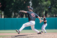 STANFORD, CA - MAY 29: Max Meier during a game between Oregon State University and Stanford Baseball at Sunken Diamond on May 29, 2021 in Stanford, California.