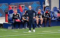 CARSON, CA - APRIL 25: Gerhard Struber head coach of the New York Red Bulls during a game between New York Red Bulls and Los Angeles Galaxy at Dignity Health Sports Park on April 25, 2021 in Carson, California.