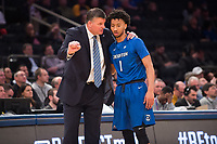 NEW YORK, NY - Thursday March 9, 2017:  Creighton and Providence square off in the Quarterfinals of the Big East Tournament at Madison Square Garden.