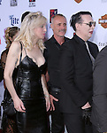 COURTNEY LOVE and Marilyn Manson attends  FX's SONS OF ANARCHY Premiere Screening held at The TCL Chinese Theatre  in Hollywood, California on September 06,2014                                                                               © 2014 Hollywood Press Agency