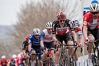 Tim Wellens (BEL/Lotto-Soudal) up the Oude Kwaremont<br /> <br /> 105th Ronde van Vlaanderen 2021 (MEN1.UWT)<br /> <br /> 1 day race from Antwerp to Oudenaarde (BEL/264km) <br /> <br /> ©kramon