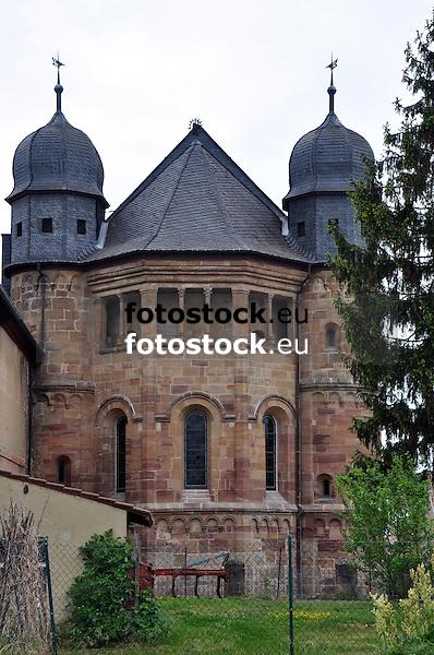 Klosterkriche des ehemalige Augustiner-Chorherrenstift, der größten unveränderten barocken Klosteranlage in Rheinland-Pfalz