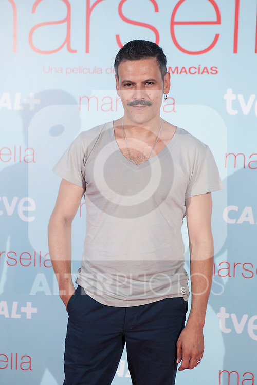Roberto Enríquez poses at `Marsella´ film premiere photocall at Capital cinema in Madrid, Spain. July 17, 2014. (ALTERPHOTOS/Victor Blanco)