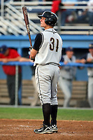 August 1 2008:  Right Fielder Butch Biela (31) of the State College Spikes, Class-A affiliate of the Pittsburgh Pirates, during a game at Dwyer Stadium in Batavia, NY.  Photo by:  Mike Janes/Four Seam Images