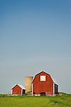 Route 66, Marion, Michigan. Barn.