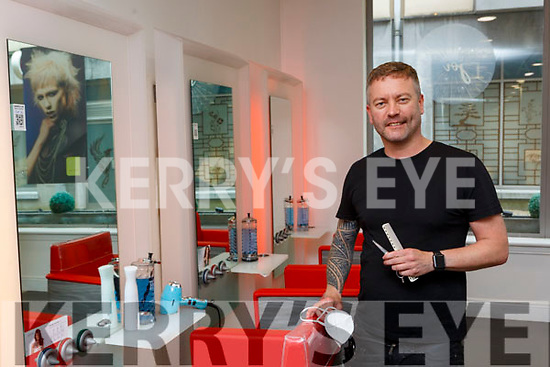 Sean Taaffe who has been busy after his hair boutique reopened after lockdown in Killarney