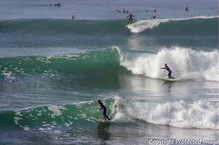 Swamis Surfing