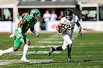 Army Black Knights running back Tyler Campbell (22) in action before the Zaxby's Heart of Dallas Bowl game between the Army Black Knights and the North Texas Mean Green at the Cotton Bowl Stadium in Dallas, Texas.
